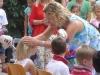 Segnung durch Pfarrerin Stijohann